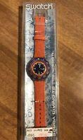 Orologio Swatch Red Island SDK 106 Scuba. Nuovo - Vintage 1992. Raro Collezione