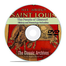 Missouri MO People Cities Towns History and Genealogy 121 Rare Books DVD CD B23