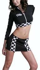 SEXY GRID PRIX RACER COSTUME BLACK