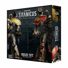 Adeptus Titanicus Rules set (English) Games Workshop