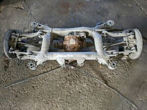 BMW 5 SERIES E60 E61 2005 COMPLETE REAR SUSPENSION AXLE SUBFRAME DIFF RATE 3.38