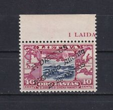 Lithuania 1935 Felix Waitkus Transatlantic Flight Mi 404 MNH Stamp