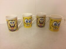 Lot of (4) - SpongeBob SquarePants - Cups Mugs - 2012 and 2014 - 2 Matched Sets