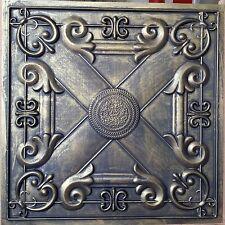 PL22 Faux tin ancient 3D sculpture ceiling tile cafe decor wall panel 10tile/lot