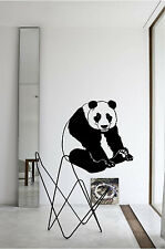 Panda Bear Wall Sticker Wall Art Decor Vinyl Decal Sticker Mural Huge!!