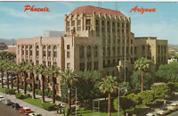 Chrome Postcard A792 Downtown Phoenix Arizona Maricopa County Courthouse AZ