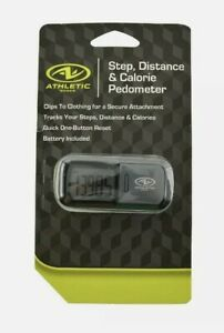 Athletic Works Step, Distance & Calorie Pedometer Free Shipping.