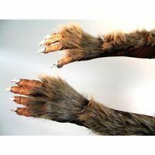 Werewolf Claw Hairy Monster Gloves Wolfskrallen Hands Wolfshände Costume