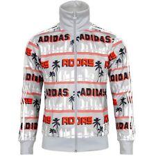 d74a67189438 Adidas LA Palm Firebird TT Herren Trainingsjacke NIGO® Jacke Track Top grau  weiß