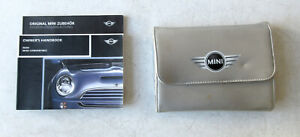 Genuine Used MINI Owners Handbook Case / Wallet / Book Pack for R50 R52 R53 #24