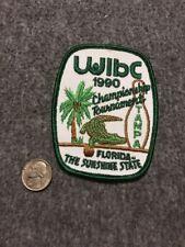 Vintage Wibc Florida Tampa Championship 1990 Tournament Bowling Patch Mint