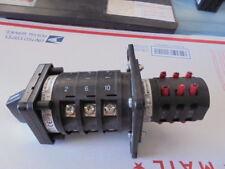 SALZER S432-US6151-05GA ROTARY SWITCH,DRUM SWITCH,M221-US6151-05GA     0-25 HP