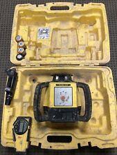 Leica Rugby 610 Rotating Laser & Rod Eye Receiver Bundle Professional Laser