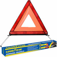 Goodyear Emergency Safety Warning Triangle Reflective Fold Up & Hard Case