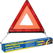 Goodyear Emergency Safety Warning Triangle Reflective Fold Up & Hard Case