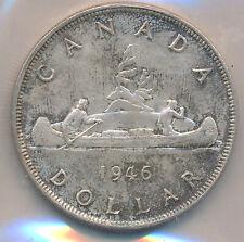 CANADA SILVER DOLLAR 1946 - ICCS MS-63