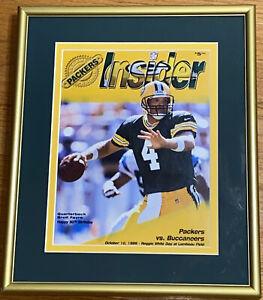 GREEN BAY PACKERS Vs Bucc's Picture Photo Prof. Framed 1999 NFL Insider Program