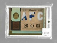 Peyton Manning 2006 Playoff National Treasures triple patch 08/18 - Colts