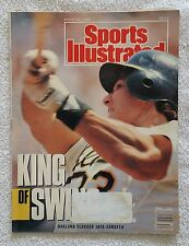Sports Illustrated August 20, 1990; The King of Swing, Slugger Jose Canseco-RARE