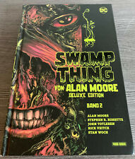 ALAN MOORE (Watchmen, V wie Vendetta) - SWAMP THING geb. Deluxe Edition Nr. 2