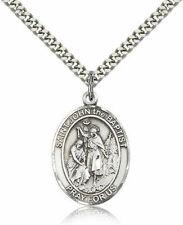 bliss Sterling Silver Saint John The Baptist Medal Pendant 1 Inch