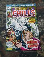 Chamber Of Chills #4 1973 Marvel Comic Edgar Allen Brunner Clean Copy