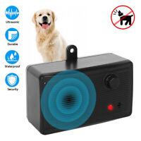 Outdoor Ultrasonic Pet Dog Stop Barking Anti Bark Control Device Sonic Silencer'
