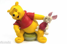 Disney Retired Winnie The Pooh & Piglet Figurine 4x6 Picture Frame Is Missing