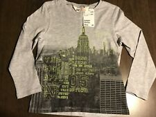 H&M Kids Graphic Long Sleeve Shirt Size 4-6 Y New With Tags