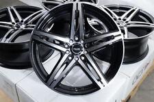 "18"" Wheels Acura ILX MDX RDX RSX TLX TSX Audi TT PT Cruiser Black Rims 5 Lugs"