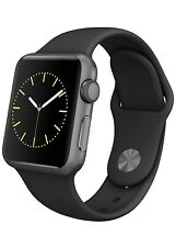 Apple Watch Series 1 Space Gray with Black Sports Band (38mm)