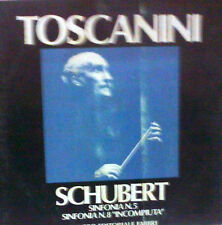DISCO 33 GIRI - TOSCANINI Schubert sinfonia n. 5 sinfonia n. 8 incompiuta