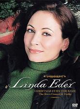 Linda Eder - Christmas Stays the Same DVD, Linda Eder,