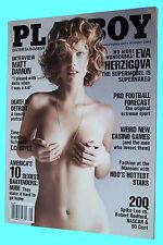 5PLAYBOY AUGUST 2004-A - PILAR LASTRA - MATT DAMON - EVA HERZIGOVA NUDE !!!