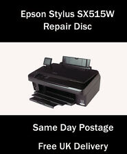 EPSON STYLUS PHOTO SX515W RESET SERVICE INKPAD ERROR DISC (FREE UK DELIVERY)