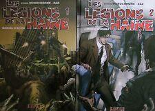 LES LÉGIONS DE LA HAINE : STUDIO MONOCHROME - ZAZ / 2 TOMES