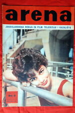 GIORGIA MOLL ON COVER R PODESTA BACK 60' EXYU MAGAZINE