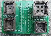 DIP TO PLCC44 Programming Adapter Board DIP40 For 8051 89C Micro MCU