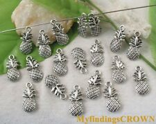50pcs Tibetan silver pineapple charms FC9051