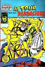 Miss Hulk N°6 - La tour diabolique - Arédit-Marvel Comics - 1982 - BE