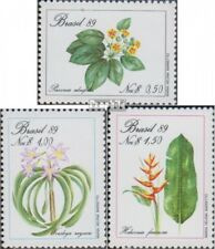 Brazil 2299-2301 (complete.issue.) unmounted mint / never hinged 1989 Flowers
