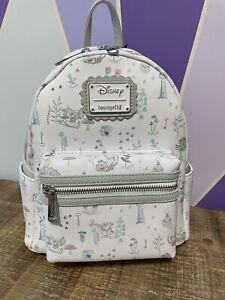 Disney Loungefly Alice in Wonderland backpack NWT