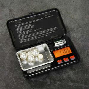 Hochpräzise Mini Digital Gramm Goldschmuck Waage Gewichtsbalance 0,01g 0,001g