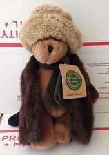 "Boyds Bears Plush 9"" Bear AUNT BESSIE SKIDOO  retired"