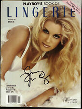 PLAYBOY'S PLAYBOY'S BOOK OF LINGERIE 7-8/1995 JENNY McCARTHY Signed/ Autographed