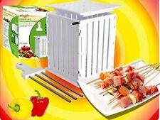 Fleisch und Gemüseschneider  Schaschlik Gemüse  Kebab Maker Box für 36 Spieße