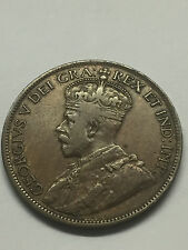 1916 Canada 1 Cent F+ #1853