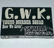 YOUNG MURDER SQUAD How We Livin SEALED RAP TAPE CASSETTE 1995 G Funk nwa 2pac lp