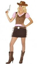 Déguisement Femme Cowgirl M/L 40/42 Costume Adulte Country Sherif Sexy film