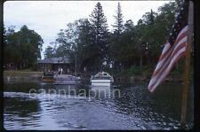 ROCK HARBOR Pier Boats Isle Royale MI Michigan Vintage 1963 Slide Photo